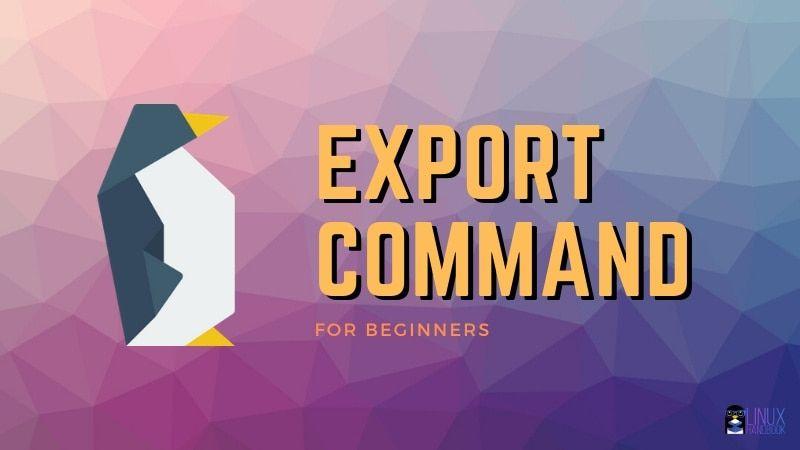 Export Command