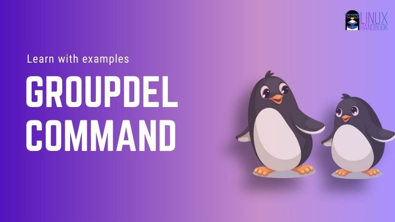 Groupdel Command