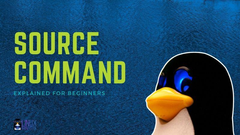 Source Command Linux