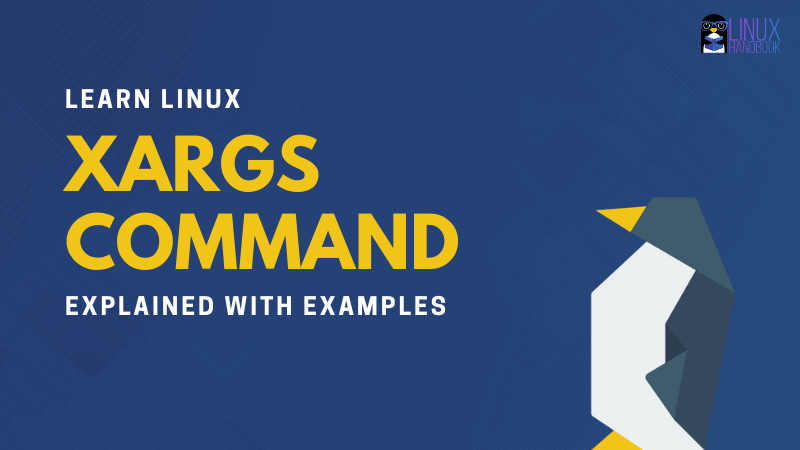 xargs command examples in linux