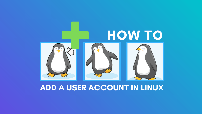 Add User Account In Linux