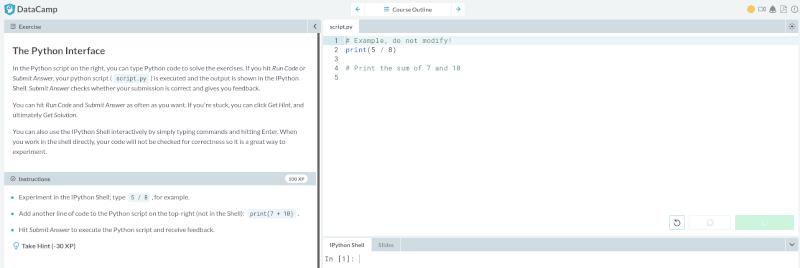 Datacamp Python