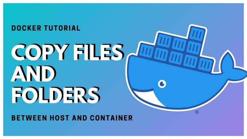 Docker Copy Files Between Host Container