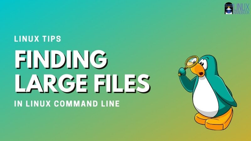 Finding Large Files Linux