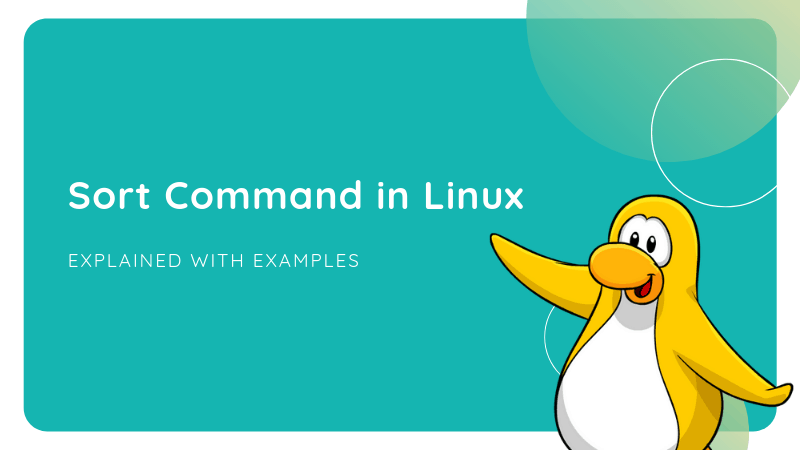 Sort Command Linux