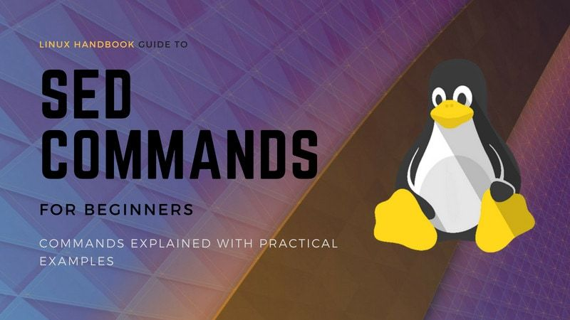 SED commands practical examples