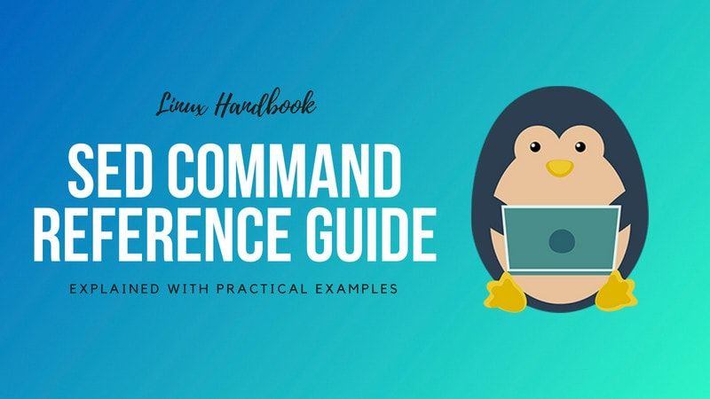complete reference guide to sed commands