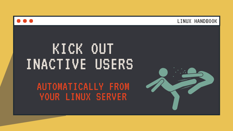 auto logout inactive linux users