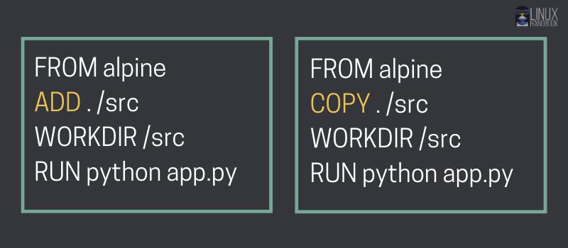 dockerfile add vs copy instructions