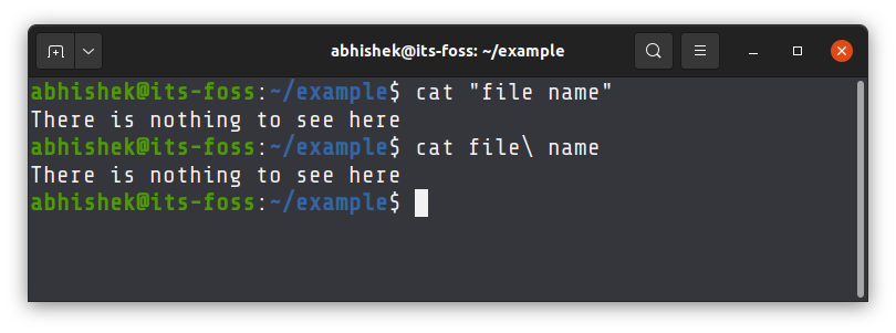 Read files with spaces in their names